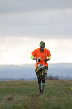 Fuzzy Eagle at the Bath Hilly Half 2015 - photo by Steve Rencontre