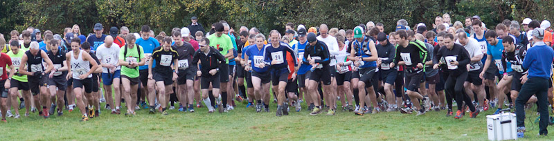 Greensand Marathon start 2012