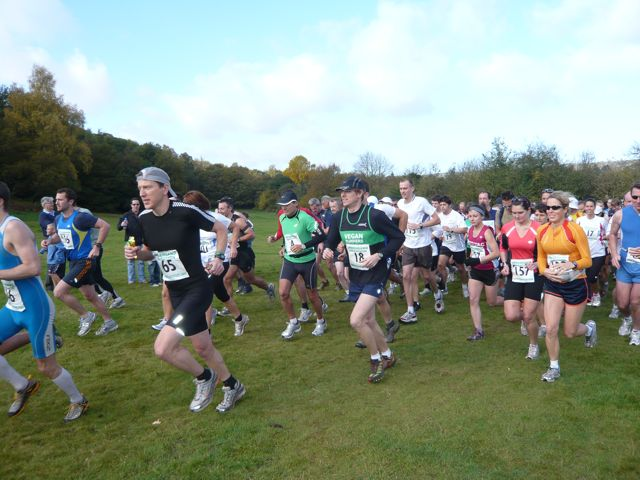 Greensand Marathon Start 2009