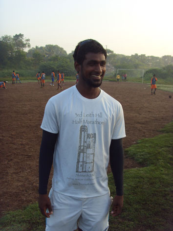Leith Hill HAlf t-shirt in Chennai